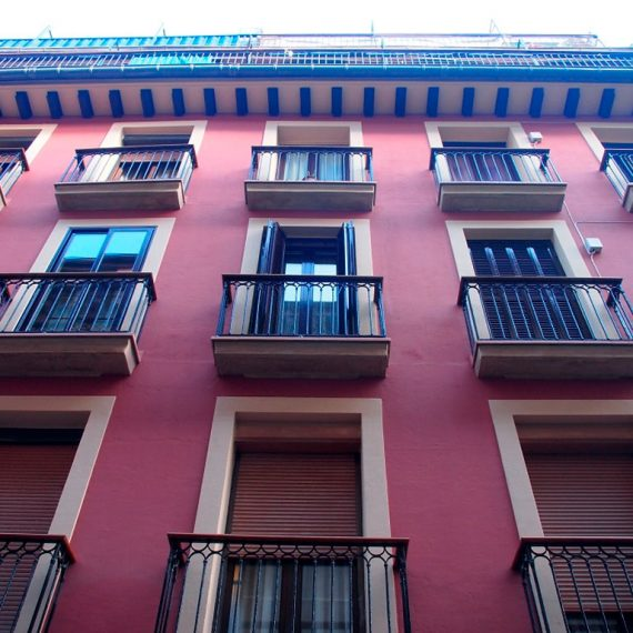 Reforma de fachada en Calle Juan de Bilbao