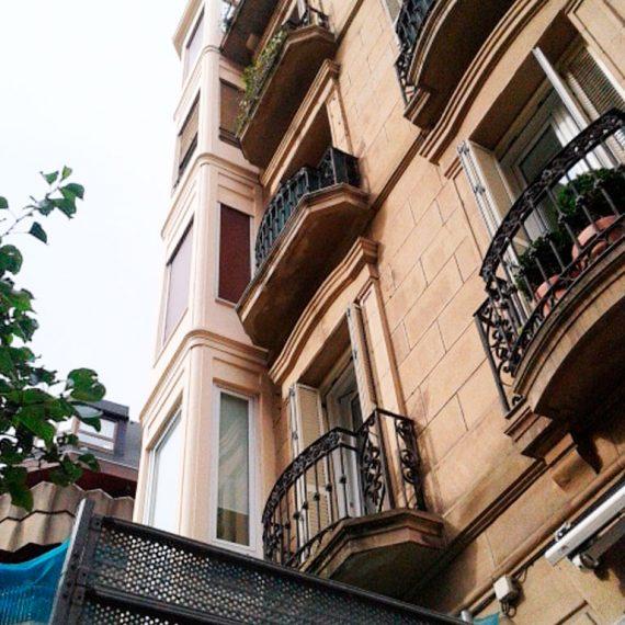 Reforma mirador y cubierta Calle Getaria