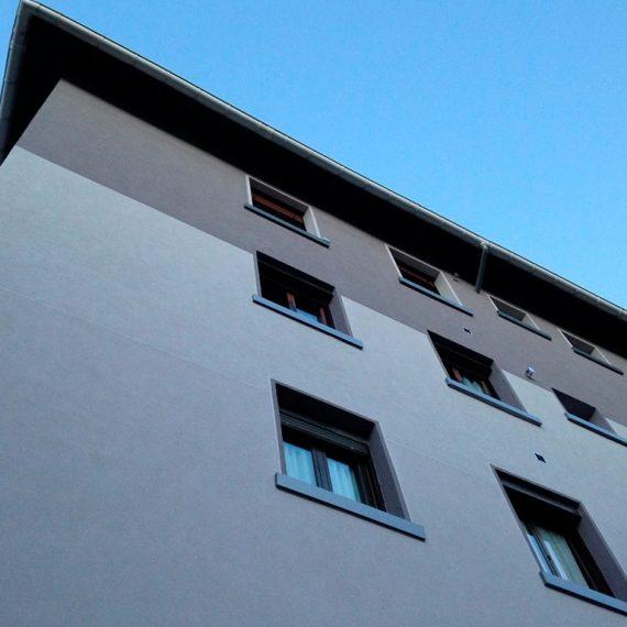 Mejora energética fachada y cubierta en Errenteria