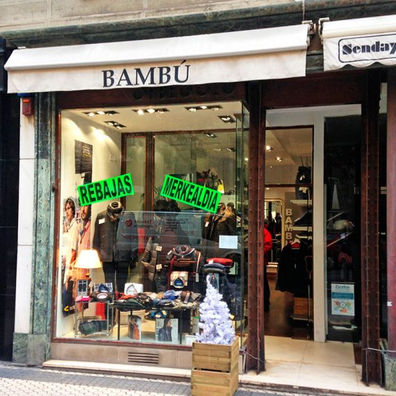 Licencia de actividad para la tienda de ropa Bambú en Donostia - Macla Arquitectos