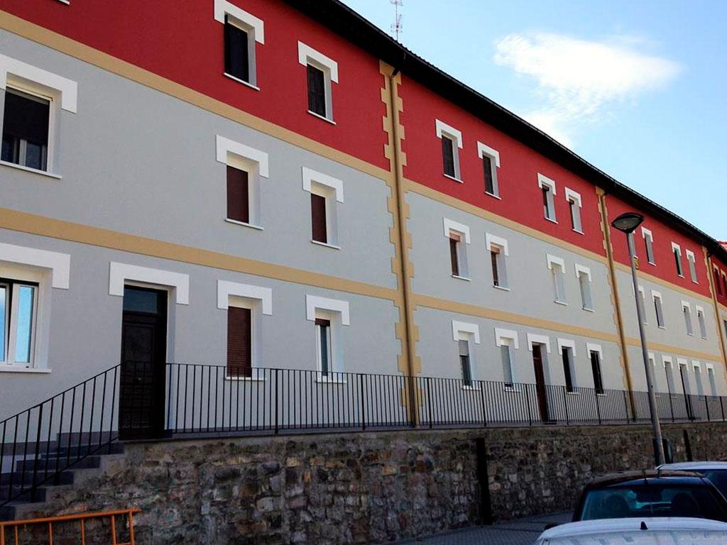 Rehabilitación de fachada en Avenida Zarautz