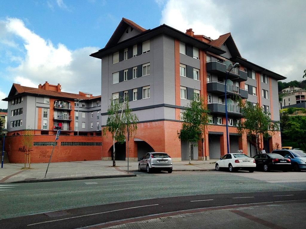 Rehabilitación de fachadas en Hernani
