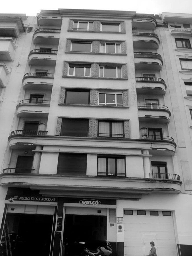 Reforma energética de fachadas, Paseo Colón 39 - Gros