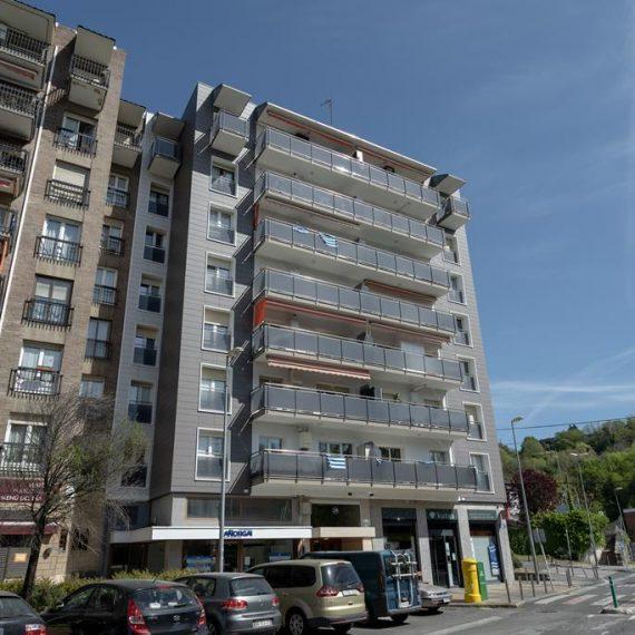Fachada ventilada en Añorga, Donostia, Macla Arquitectos